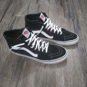 Vans Skate High Top Sneakers Size 8.5 Men Black